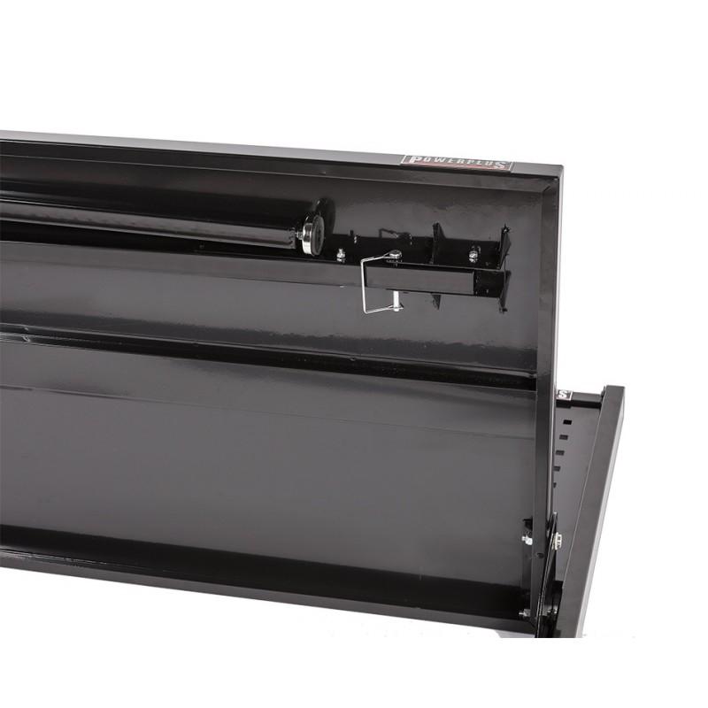 Inklapbare werkbank met gereedschapsbord   133 x 67,5 x 138 cm   Powerplustools