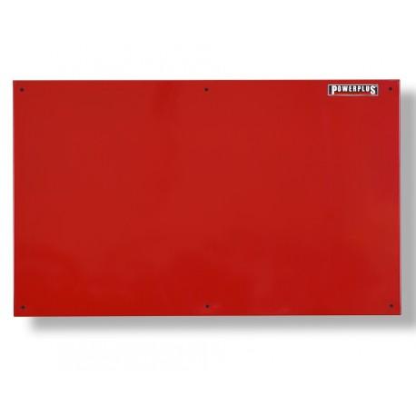 Gereedschapsbord rood 100 x 61 cm voor magnetisch gereedschap - Gereedschapbord.