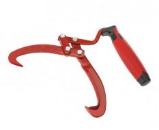 Handpaktang - houthaak 34 cm. lang - boomstam haak - dragen - optillen - max. stamdiameter 12 cm