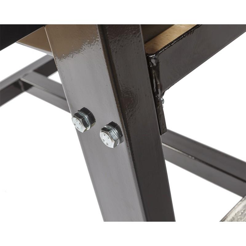 werkbank zwart 200 cm met hardhouten blad 2 gereedschapskisten en gereedschapsbord. Black Bedroom Furniture Sets. Home Design Ideas