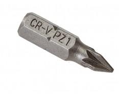 PZ1 x 25 mm Pozidriv bits - 40 stuks in kunststof box - bitset - Pozidriv bitjes