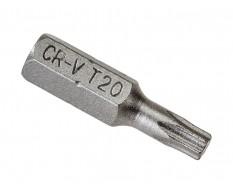 T20 x 25 mm Torx bits - 40 stuks in kunststof box - bitset - Torx bitjes