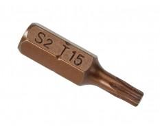T15 x 25 mm Torx krachtbits - 40 stuks gehard gereedschapsstaal in kunststof box - bitset - Torx bitjes