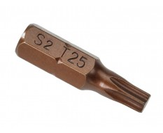 T25 x 25 mm Torx krachtbits - 40 stuks gehard gereedschapsstaal in kunststof box - bitset - Torx bitjes