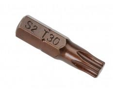 T30 x 25 mm Torx krachtbits - 40 stuks gehard gereedschapsstaal in kunststof box - bitset - Torx bitjes