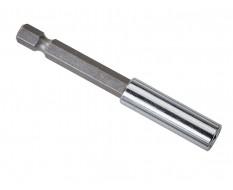 """Magnetische bithouder 75 mm lang - 1/4"""" inwendig"""