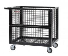 Professionele magazijnwagen 112 x 72 x 100 cm met een capaciteit van 350 kg