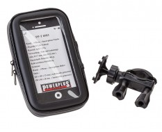Telefoon tas – etui + stuurhouder voor iphone – smartphone - GSM - 6 inch – stof en waterdicht 150 x 80 x 28 mm.