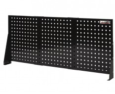 Gereedschapsbord zwart 150 x 61 cm