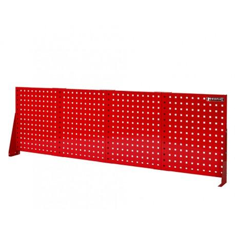 Gereedschapsbord rood 200 x 61 cm