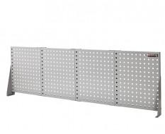 Gereedschapsbord grijs 200 x 61 cm