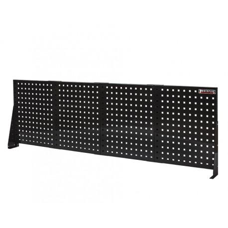 Gereedschapsbord zwart 200 x 61 cm