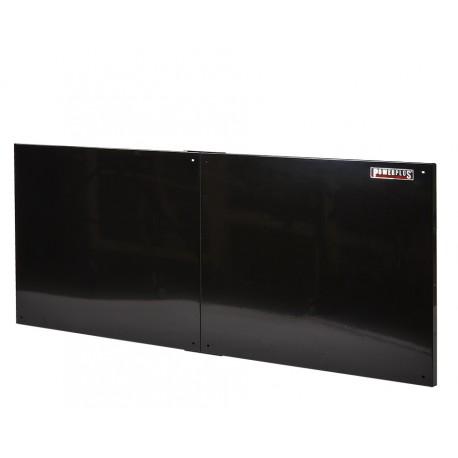 Gereedschapsbord zwart 150 x 61 cm voor magnetisch gereedschap - Gereedschapbord.