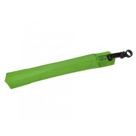 Kunststof achterspatbord – groen - met zadelpenbevestiging