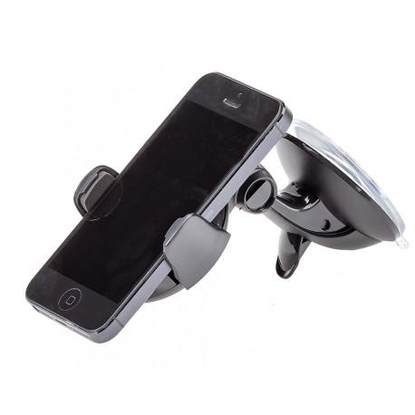 Raamhouder telefoon – telefoonhouder autoruit – telefoonhouder auto – autohouder zwart