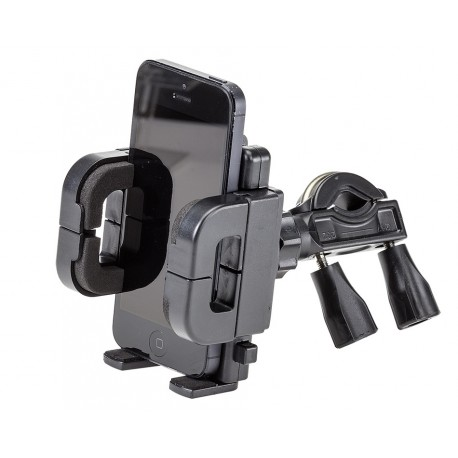 Universele telefoonhouder voor fiets – montage op fietsstuur - gew. 166 gram