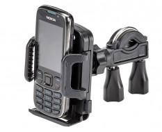 Universele telefoonhouder voor fiets – montage op fietsstuur - gew. 62 gram