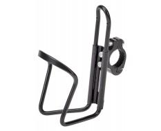 Aluminium Bidonhouder voor montage op stuur fiets – racefiets – MTB – Mountainbike incl. stuurklem - Zwart