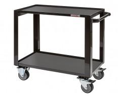 Professionele gereedschapstrolley 98 x 50 x 87 cm zwart - Cap. 200 kg - werkplaats trolley - werkplaatskar