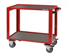 Professionele gereedschapstrolley 98 x 50 x 87 cm rood - Cap. 200 kg - werkplaats trolley - werkplaatskar