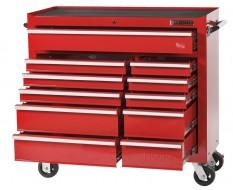 Gereedschapswagen rood 11 laden met quick lock