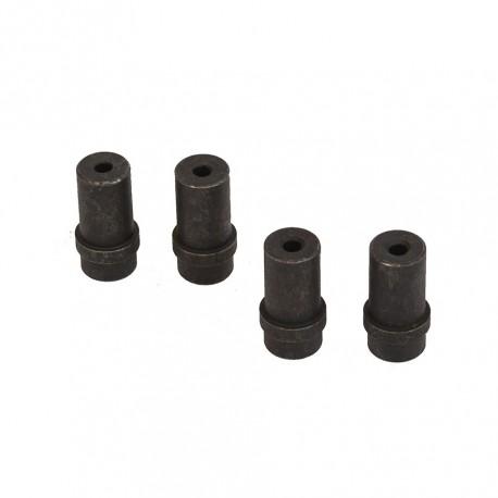 Set van 4 stalen nozzles 5 mm. voor straalpistool 0013