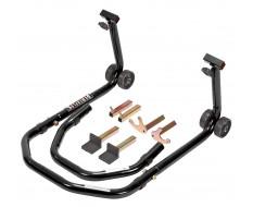 Paddockstand voor - of achterwiel 3 in 1 voor motorfietsen - zwart