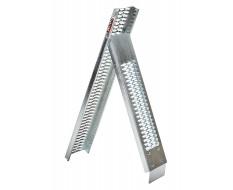 Oprijplaat staal – stalen oprijplaat – oprijplank inklapbaar 215 cm